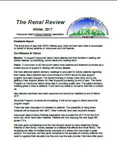 The Renal Review - Winter 2017
